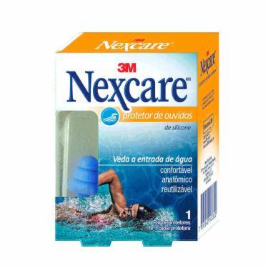 Protetor de Ouvido de Silicone Nexcare 3M com 1 par 1 Par