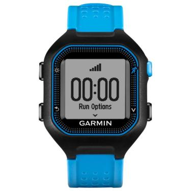 Garmin - Forerunner 25 Gps Monitor De Atividade E Relógio - Preto/Azul-010-01353-01