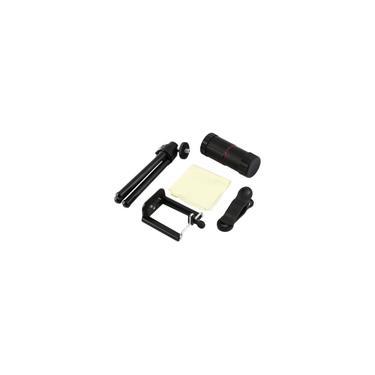 8xZoom universal lente da câmera telescópio suporte para celular suporte tripé suporte