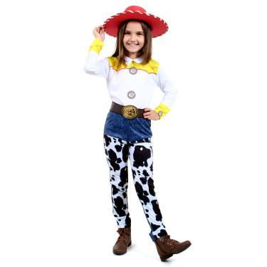 Imagem de Fantasia Jessie Infantil Original com Chapéu - Toy Story - Disney P