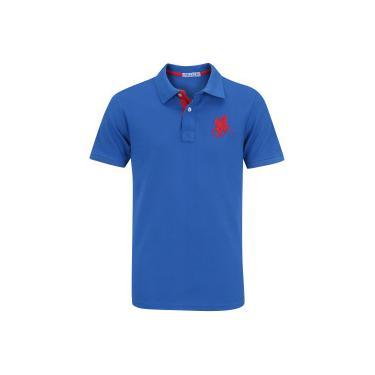 Camisa Polo Polo US Us1 - Masculina - AZUL VERMELHO Polo Us af8ae656396f2