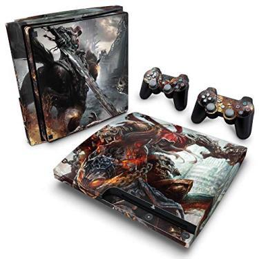 Skin Adesivo para PS3 Slim - Darksiders Wrath Of War