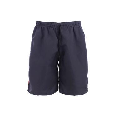 Shorts Bermuda Tactel Masculina Listras Laterais Com Cordão
