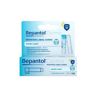Imagem de Protetor Labial Bepantol Derma FPS50 com 4,5g 4,5g