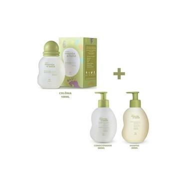 Imagem de Colônia Mamãe E Bebê+shampoo E Condicionador Natura