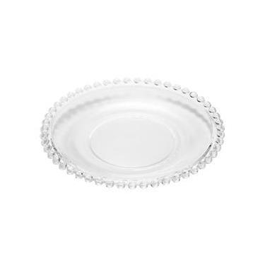 Prato para Sobremesa em Cristal Pearl 19cm