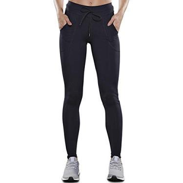 Calça legging Basic Free II, Lupo Sport, Feminino, Preta, M