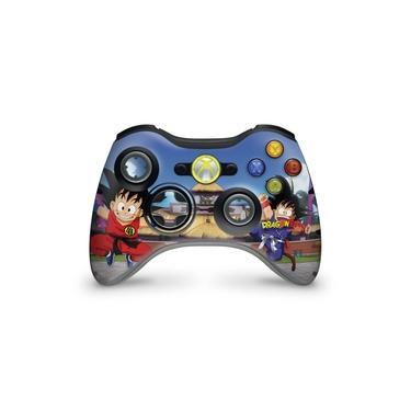 Skin Adesivo Para Xbox 360 Controle - Dragon Ball Clássico