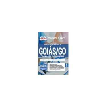 Imagem de Apostila Prefeitura de Goiás - GO 2020 - Tec de Enfermagem