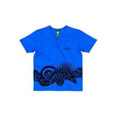 Camiseta Azul Masculina - Copa do Mundo da FIFA 2014 - FIFA