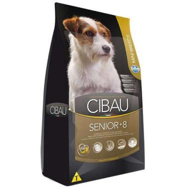 Ração Farmina Cibau Senior +8 para Cães de Raças Pequenas com 8 Anos ou Mais de Idade - 1 Kg
