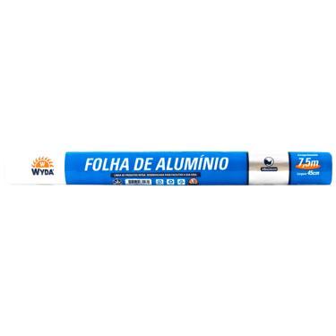Papel Alumínio 7,5mx45cm Wyda 1002594