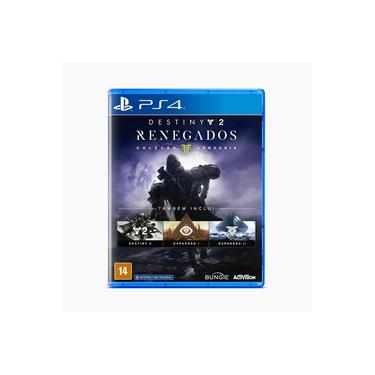 Destiny 2: Renegados (coleção Lendária) - Ps4