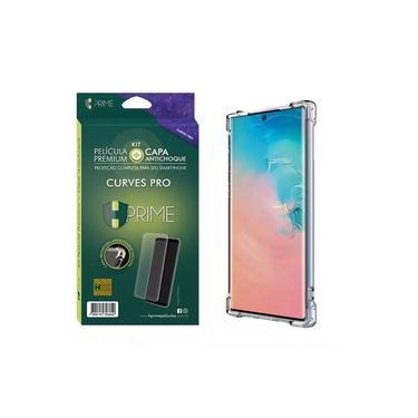 Kit HPrime Película Curves Pro 3 + Capa para Samsung Galaxy Note 10+ Plus 6.8