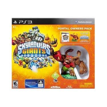 Jogo - Skylanders Giants Portal Owners Pack PS3