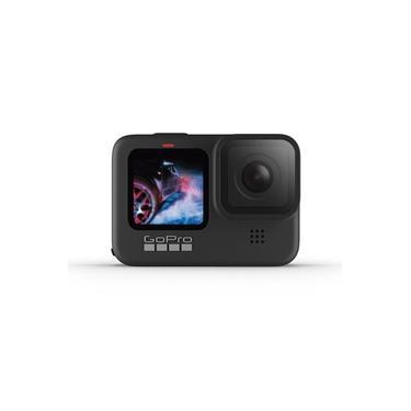 Câmera GoPro HERO 9 Black à Prova D'água com LCD Frontal Vídeo em 5K Foto de 20 MP Transmissão Ao Vivo em 1080p Webcam Hypersmooth 3.0