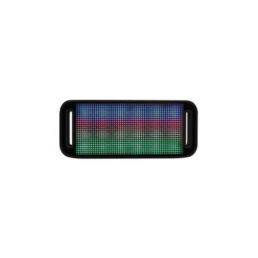 Caixa De Som Bluetooth Maxprint Lumini Led 4W Bluetooth 2.1 Preta