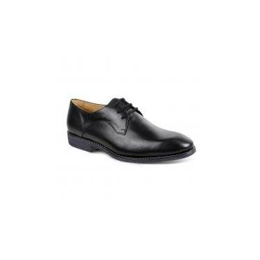 Sapato social masculino derby sandro moscoloni vicenzo preto black -