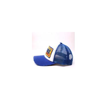 Boné de malha de patchwork unissex da moda boné de beisebol rede ao ar livre dom chapéu de viagem