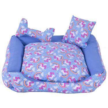 Cama Pet Unicolors Azul Tam: G