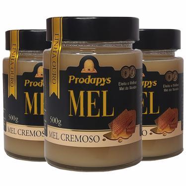 Mel Cremoso Linha Ouro 500g - ELEITO O MELHOR MEL DO MUNDO - Kit com 3