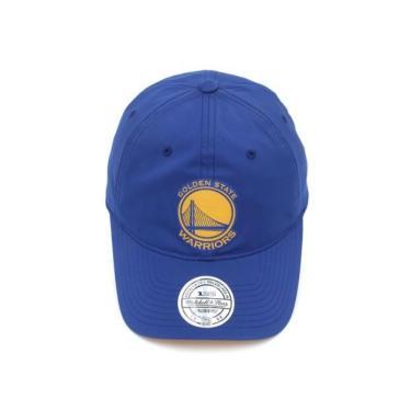 Boné Golden State Warriors Mitchell & Ness Nba Aba Curva