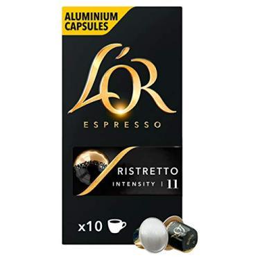 Cápsulas de Café Ristretto L'Or 10 Cápsulas