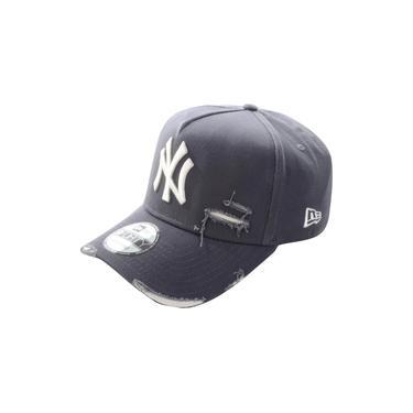 Boné New Era New York Yankees Destroyed Chumbo Branco