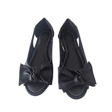 Sapatilha peep toe (38)