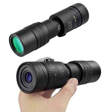 Imagem de Telescópio Monocular, Mini Telescópio 4K HD 10-30X40mm Super Telephoto Telescope para Observação de Pássaros Caça de Vida Selvagem Camping Cenário Esportes ao Ar Livre - Sem Tripé