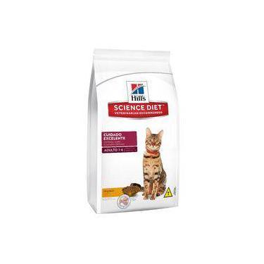 Ração Hill's Science Diet Cuidado Excelente Para Gatos Adultos De 1 A 6 Anos - 7,5kg