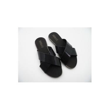 Sandalia Rasteira Plastica Chocolate Shoes 530.001