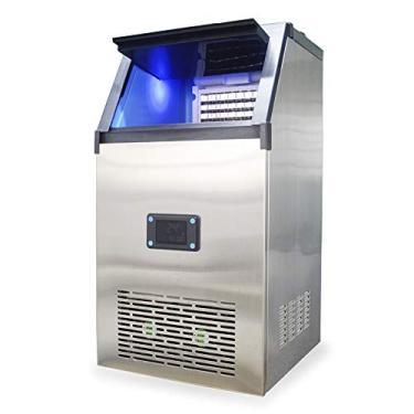 Imagem de Máquina de Gelo Thermo Ice TH50-50kg/dia - 220V – Thermomatic – Inox – Timer - Gelo em cubo 220v
