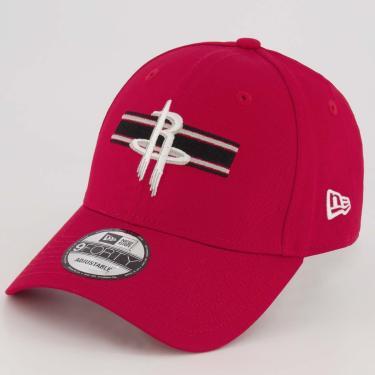 Boné New Era NBA Houston Rockets Vermelho