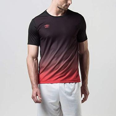 Camisa Twr Degrade, Umbro, Masculino, Preto, GG