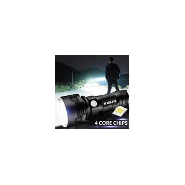 Imagem de Lanterna LED XHP50 Lanterna USB recarregável à prova d'água ultra brilhante