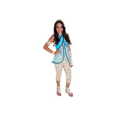 Imagem de Fantasia Monster High Cleo De Nile Luxo Sulamericana Fantasias