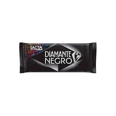 Barra de Chocolate Diamante Negro Ao Leite Lacta 90g - 1 Unidade