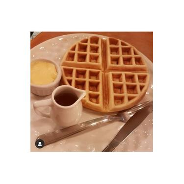 Waffle american style