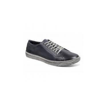 Sapatênis masculino sandro moscoloni new street jeans navy blue - Sandro republic