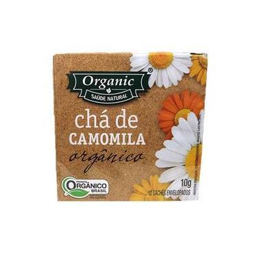 Chá de Camomila Orgânico 10g