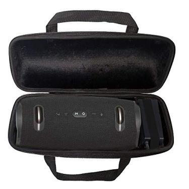 Case Bolsa Protetora Rígida para JBL Xtreme 2 e 3 C/Compartimento Extra