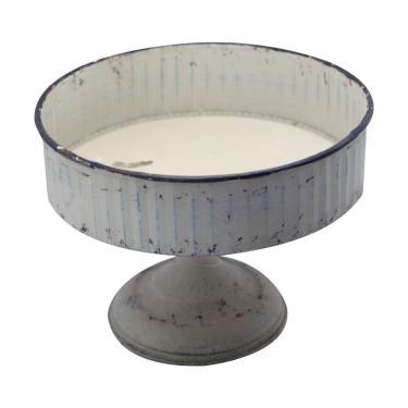 Centro de Mesa / Fruteira Pedestal Vintage em Metal Fruteira Pedestal em Metal