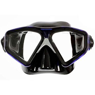 Imagem de Máscara de Mergulho Cetus New Parma Fun - Preto/azul
