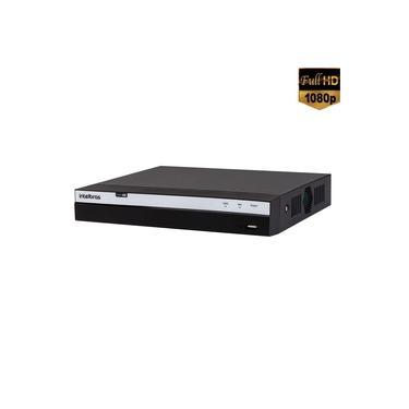 Imagem de DVR 8 Canais Intelbras Full HD 1080p + 4 IP H.265 Até 10TB 5 em 1 Detecção de Face - MHDX 3108