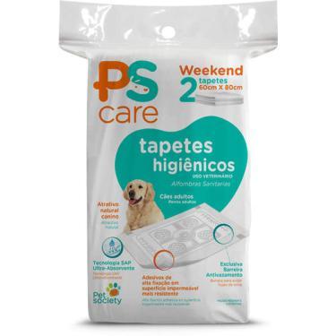 Tapetes Higiênicos Pet Society PS Care para Cães Adultos - 2 Unidades