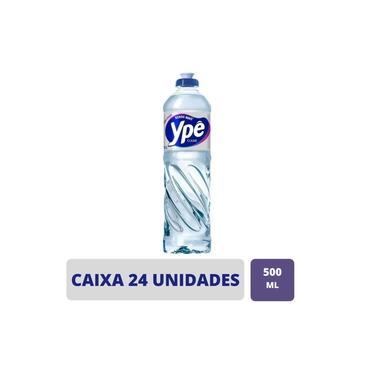 Kit 24 Unidades Detergente Ype Líquido Clear 500ml