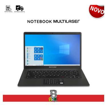 Imagem de Notebook Multilaser Trabalho Office 365 14 4gb 64gb Barato