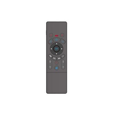 T6 Frente e Verso Air Mouse Teclado com Touchpad Seis Eixos Somatosensory Jogo Android Controle Remoto Conexão bluetooth