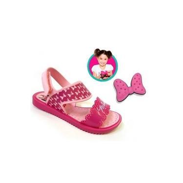 Sandália infantil grendene disney minnie fashion maker